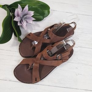 Keen Leather Minimalist Gladiator Flat Sandal